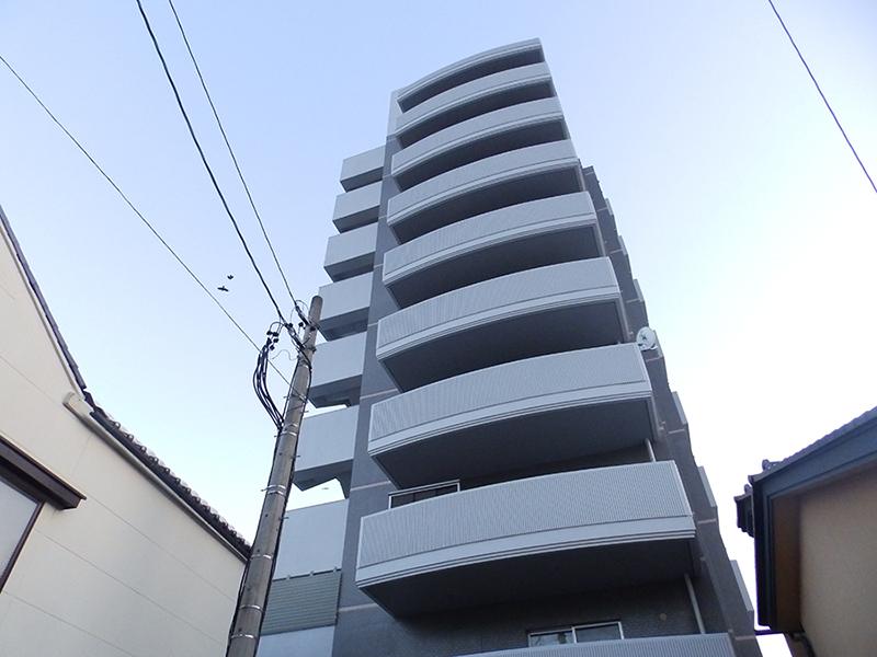 長野市南長野諏訪町で販売中のリフォーム・リノベーション済み中古マンションの外観