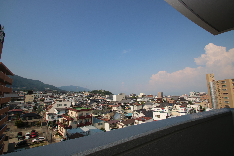 長野市南長野諏訪町で販売中のリフォーム・リノベーション済み中古マンションからの眺望